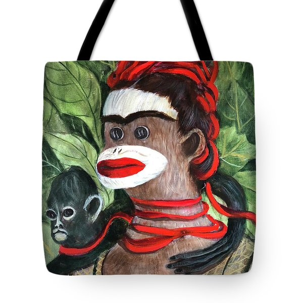 With Love To The Artist Frida Kahlo Tote Bag