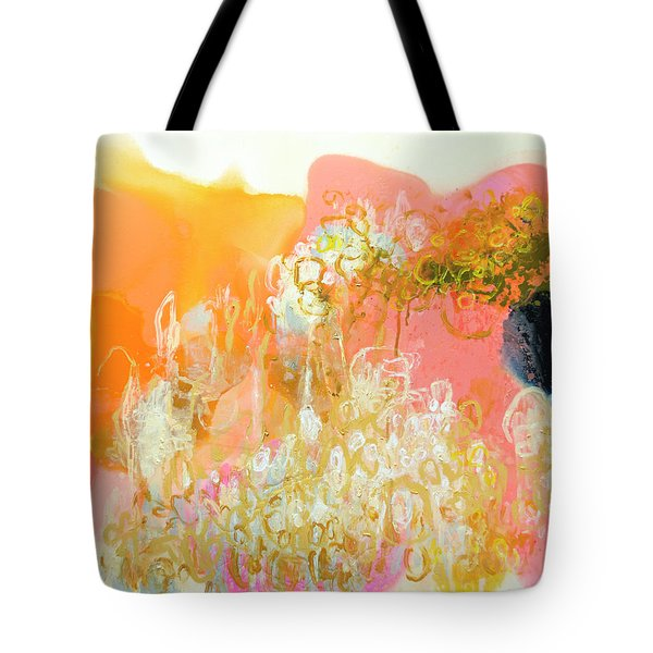 With Only Trepidation Tote Bag