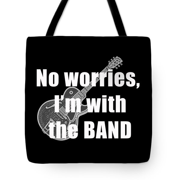 With The Band Tee Tote Bag