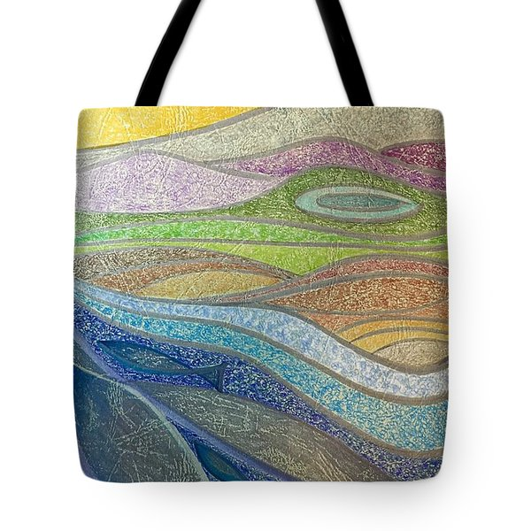 With The Flow Tote Bag