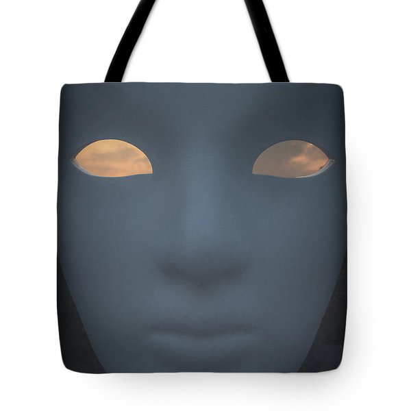 With The Sky In The Eyes Tote Bag