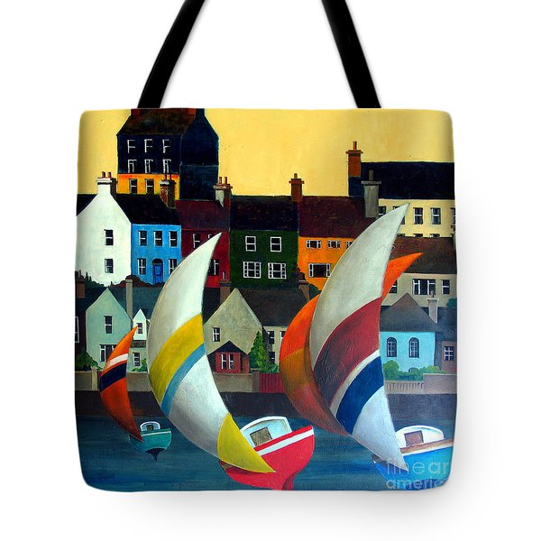 With The Wind In Kinsale, West Cork Tote Bag