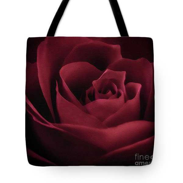With This Rose Tote Bag