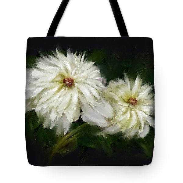 Withering Peony Tote Bag by Bonnie Willis