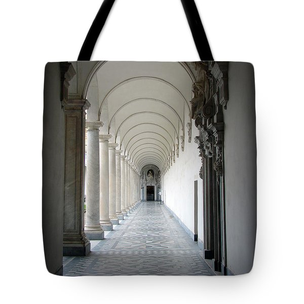 Within The Castle Walls Tote Bag