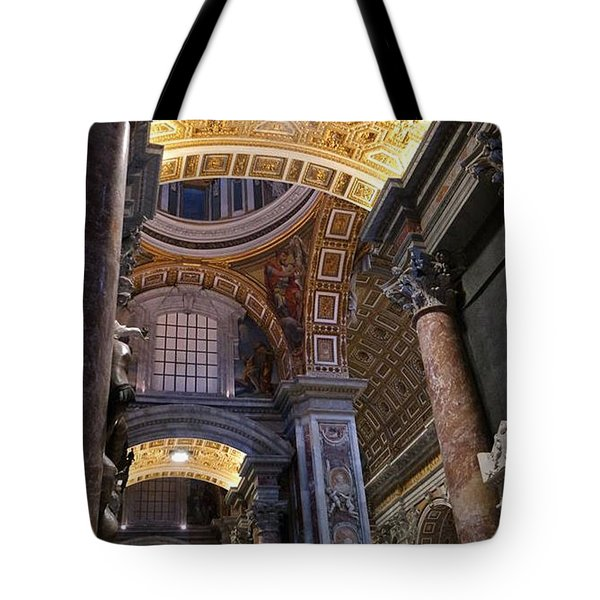 Within The Corridors Of St. Peter's Tote Bag