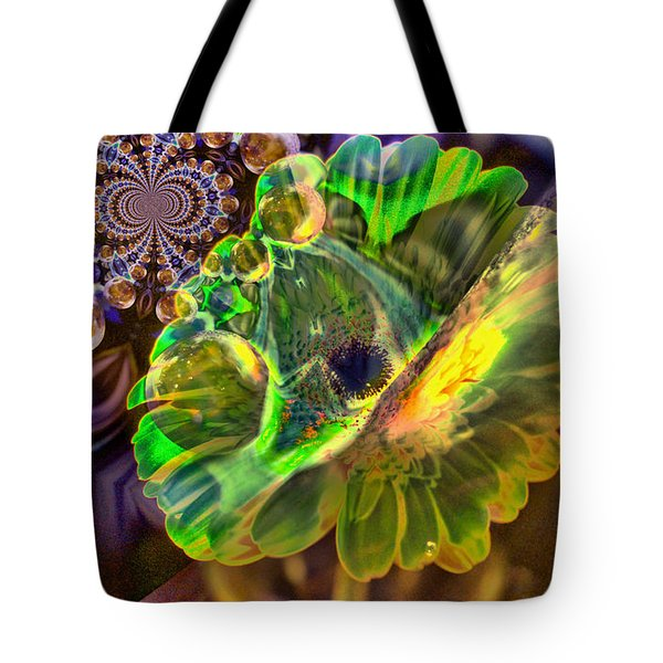 Tote Bag featuring the photograph Within The Mind Meld by Jeff Swan