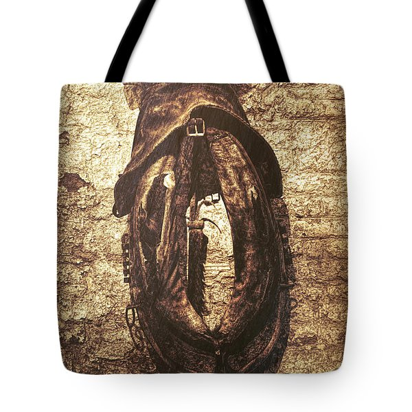Without Horse Tote Bag by Wim Lanclus