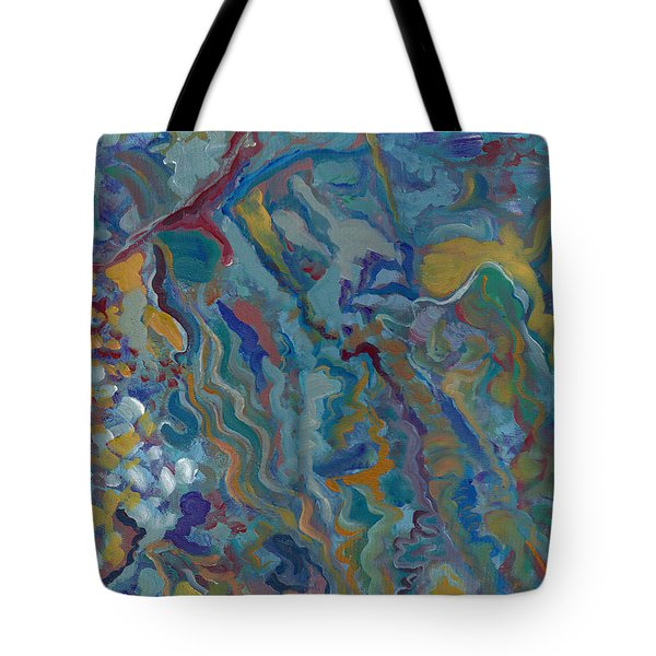 Tote Bag featuring the painting Without Limitations by John Keaton