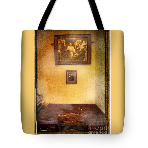 Witness Of Truth Tote Bag
