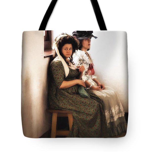 Tote Bag featuring the photograph Witnesses For The Prosecution  ... by Chuck Caramella