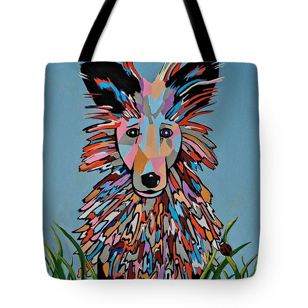 Tote Bag featuring the painting Wiz by Kathleen Sartoris