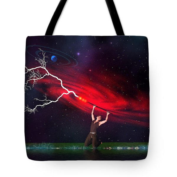 Wizard Tote Bag by Corey Ford