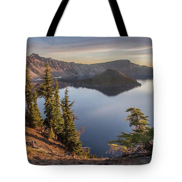 Wizard Island Beauty Tote Bag