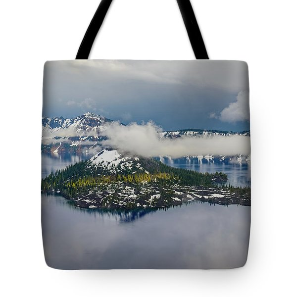 Wizard Island Tote Bag