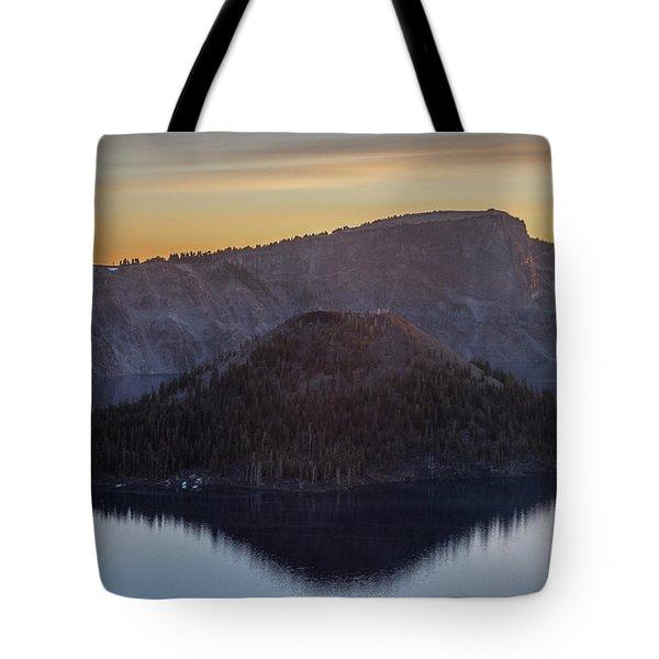 Wizard Island Morning Tote Bag