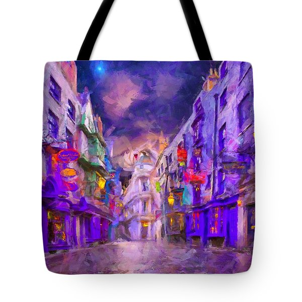 Wizard Mall Tote Bag