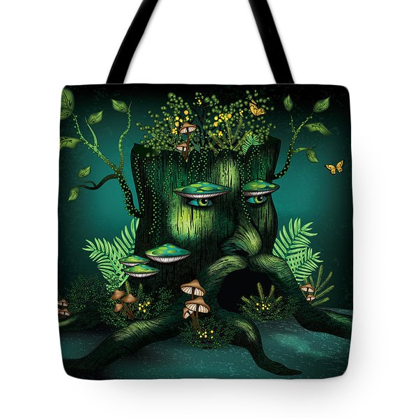 Wizard Stump Tote Bag