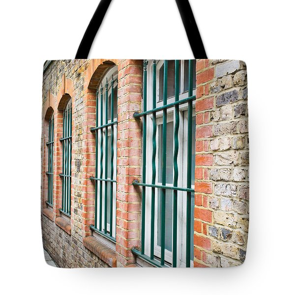 Wndow Bars Tote Bag