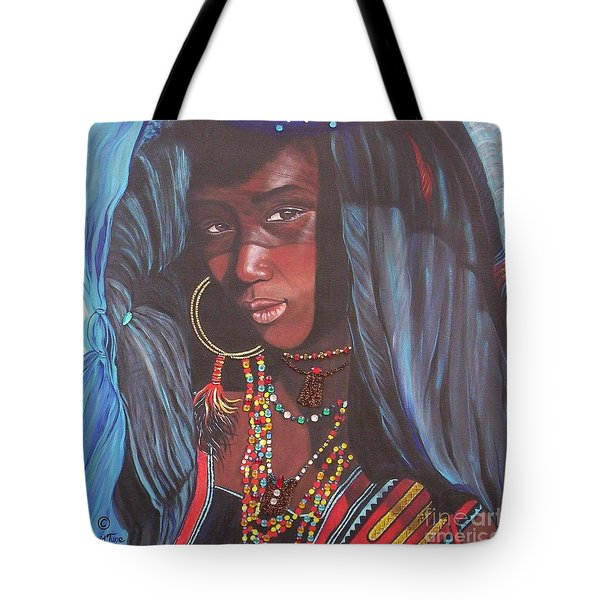 Wodaabe Girl Tote Bag