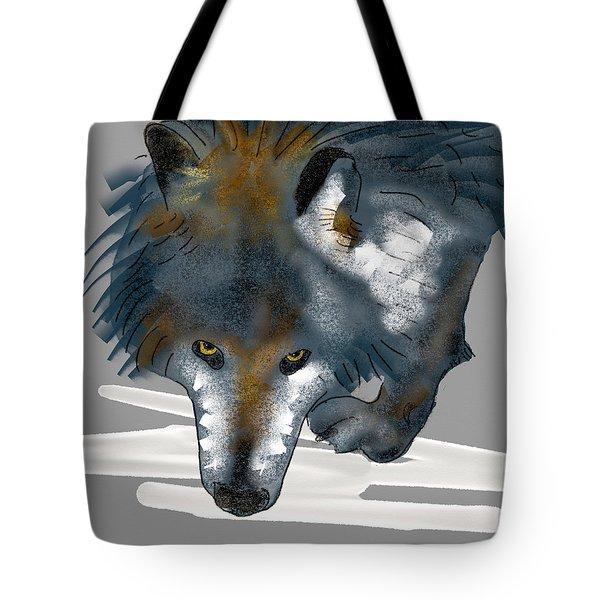 Wolf. Tote Bag