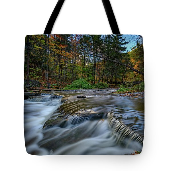 Wolf Creek Autumn Tote Bag