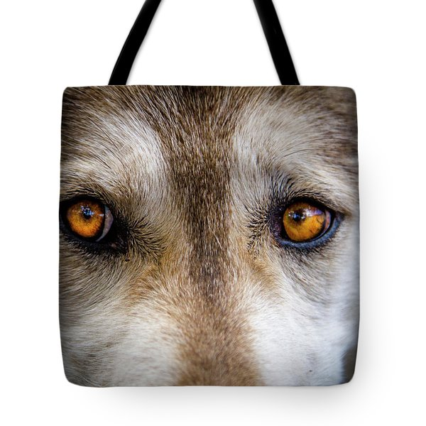Wolf Eyes Tote Bag