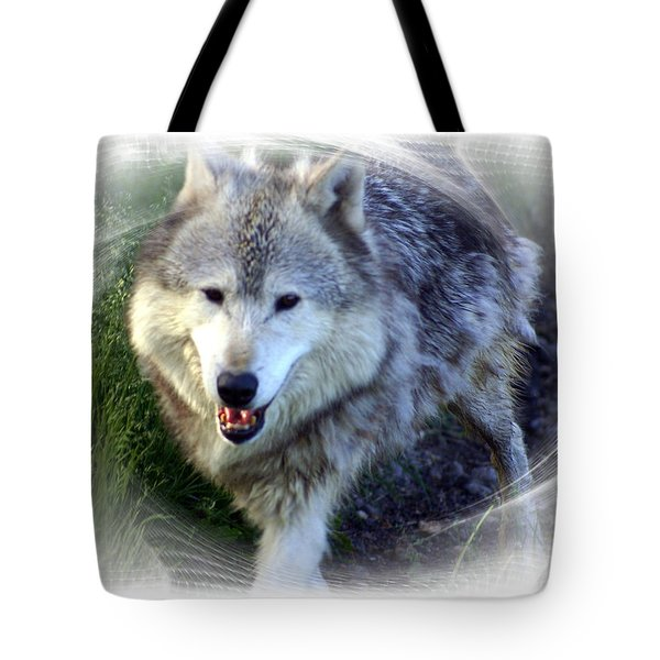 Wolf Tote Bag by Marty Koch