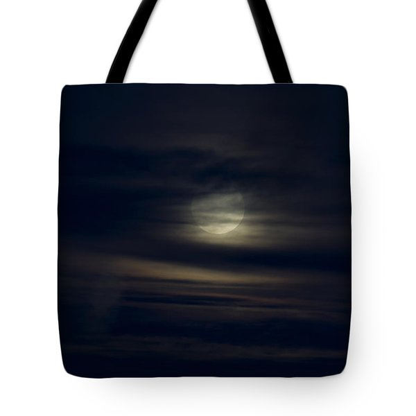 Wolf Moon Tote Bag by Karen Slagle
