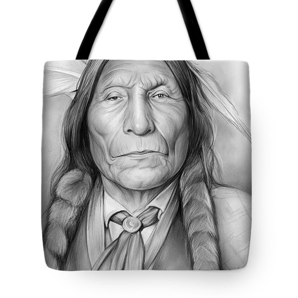 Wolf Robe Tote Bag