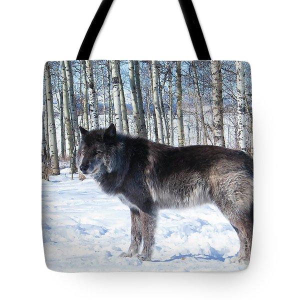 Wolfdog Tote Bag