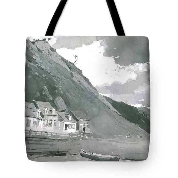 Wolfe's Cove Quebec Tote Bag