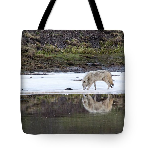 Wolflection Tote Bag