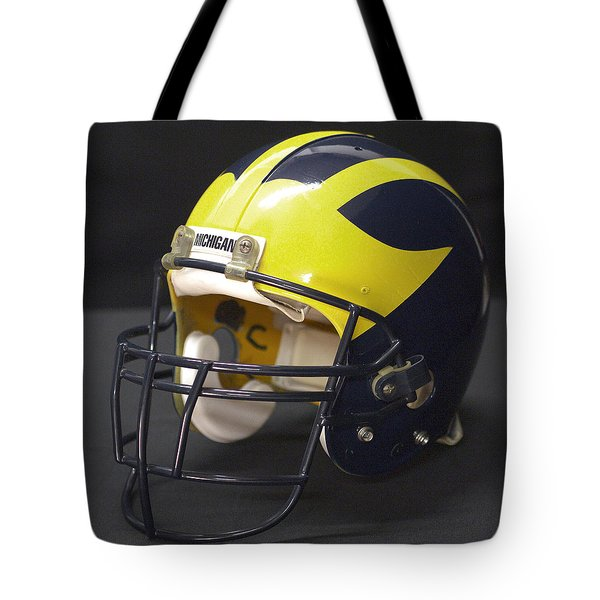 Wolverine Helmet From The 1990s Tote Bag