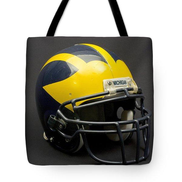 Wolverine Helmet Of The 2000s Era Tote Bag