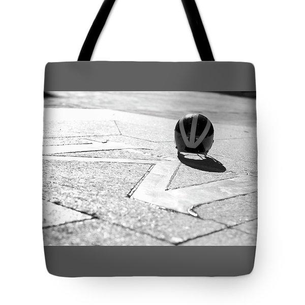 Wolverine Helmet On The Diag M Tote Bag