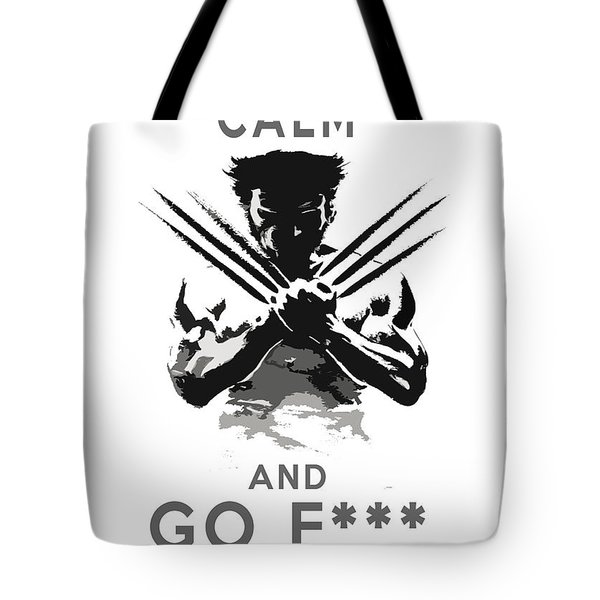 Wolverine Keep Calm Tote Bag