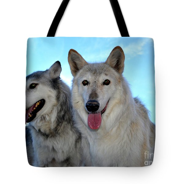 wolves IV Tote Bag