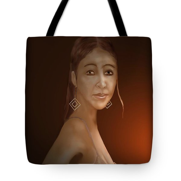 Woman 10 Tote Bag by Kerry Beverly
