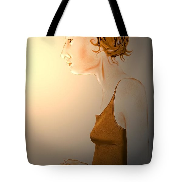 Woman 15 Tote Bag by Kerry Beverly