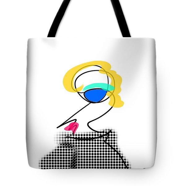 Woman 2 Tote Bag