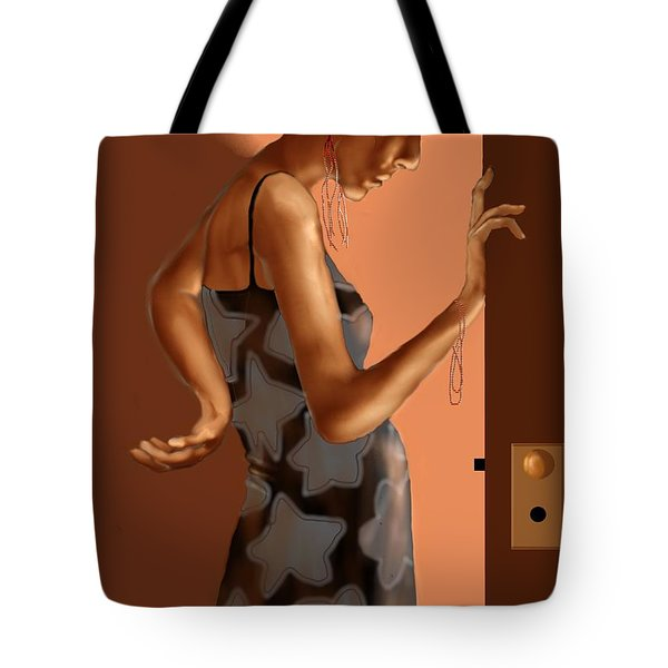 Woman 37 Tote Bag by Kerry Beverly