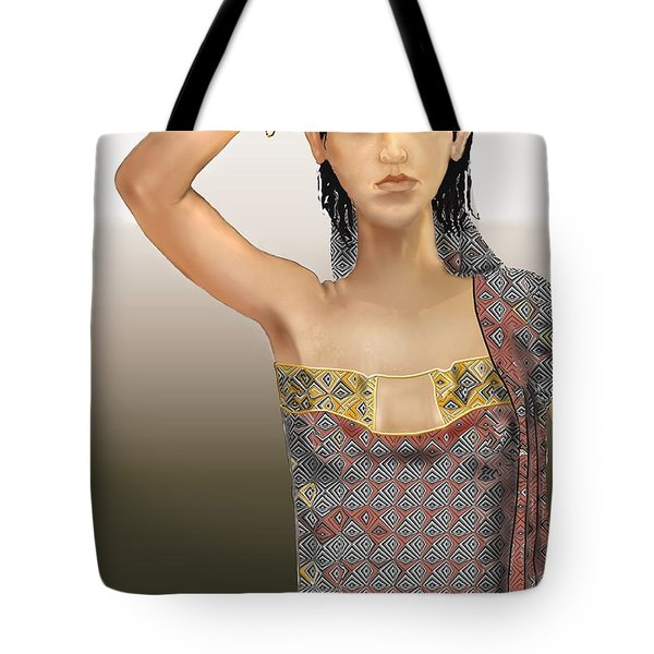 Woman 5 Tote Bag by Kerry Beverly