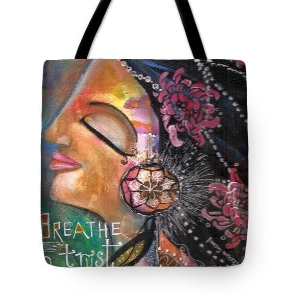 Woman Art Tote Bag