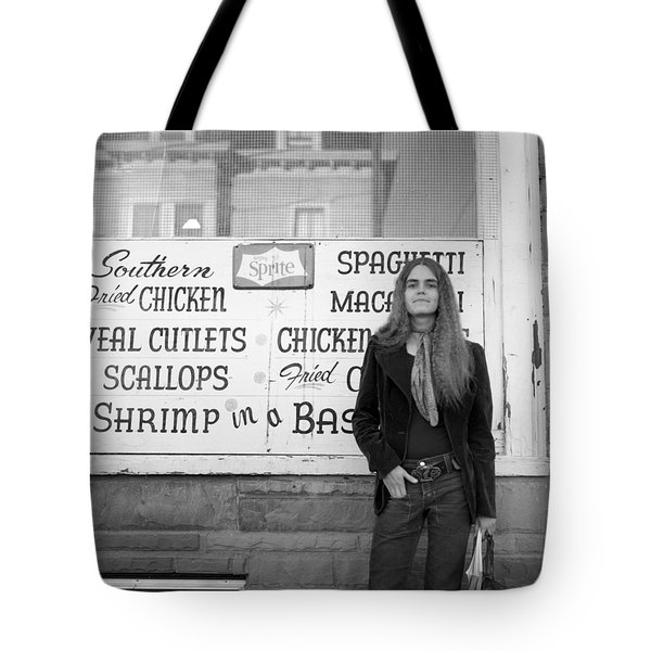 Woman Contemplates Scallops, 1972 Tote Bag