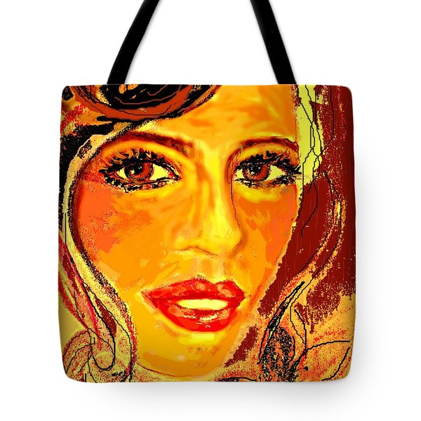 Woman Tote Bag by Desline Vitto
