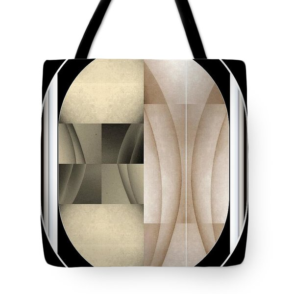 Woman Image Three Tote Bag