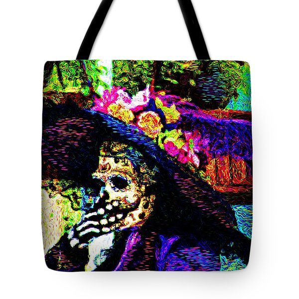 Woman In Play  Tote Bag