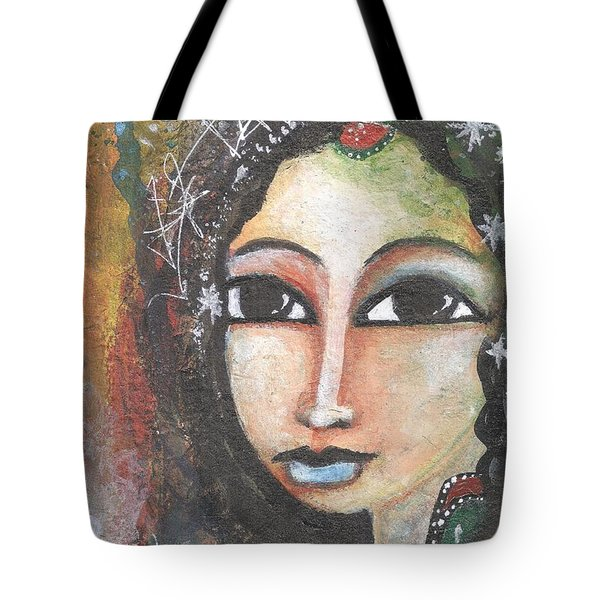 Woman - Indian Tote Bag