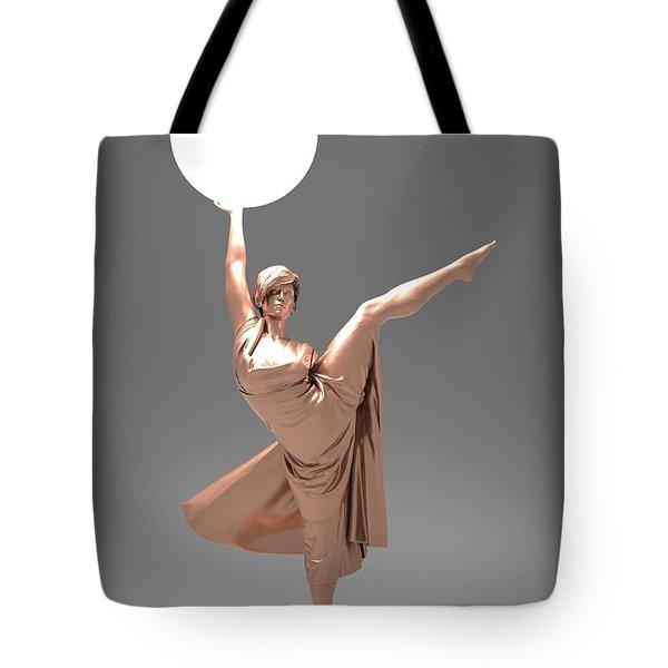 Woman Lamp Number Three Tote Bag
